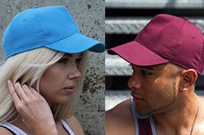 Gorras de algodón, de poliéster, sombreros de paja etc...