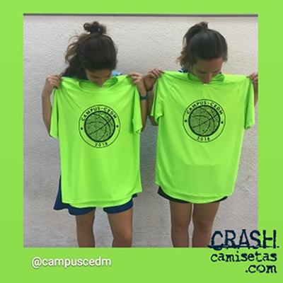 Camisetas TÉCNICAS, polos MONITORES, campus CEDM 2018