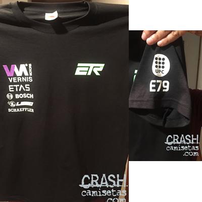 Camisetas personalizadas E-TECH RACING con diferentes estampaciones
