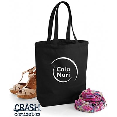 Samarretes i bosses de cotó de nanses llargues en negre per CA LA NURI.