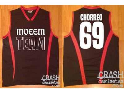 Camisetas CRASH de baloncesto personalizadas MOEEM pride 2014