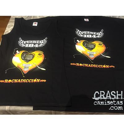 Camisetas personalizadas grupo PUERTA 104